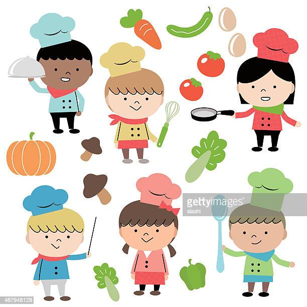 Group Of Multi Ethnic Children In Business Suit Vector Art | Getty ...