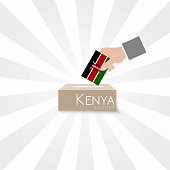 Kenya Elections Vote Box Vector Work