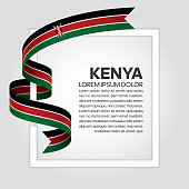 Kenya, flag, country, culture, background
