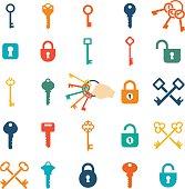 Vector Key Icons
