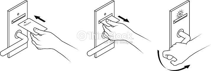 Keycard instrues arte vetorial thinkstock keycard instrues arte vetorial ccuart Image collections