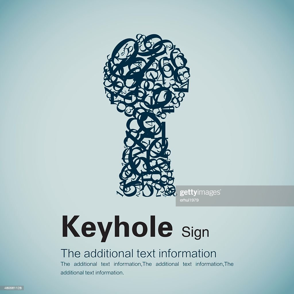 Keyhole : Vector Art