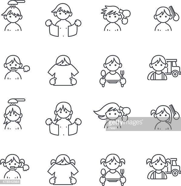 Ilustraciones de Stock y dibujos de Lavarse Los Dientes