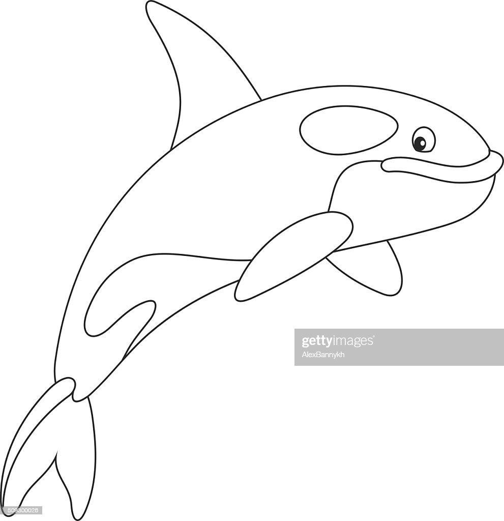 Excepcional Orca Ballena Para Colorear Elaboración - Ideas Para ...