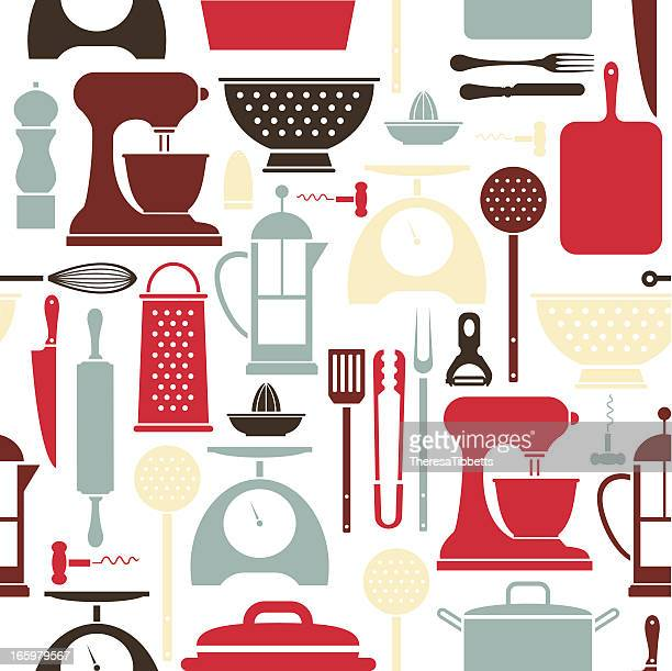 Cartoon Kitchen Tools ~ Utensil stock illustrations and cartoons getty images