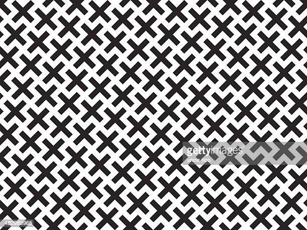 Kross Seamless Pattern