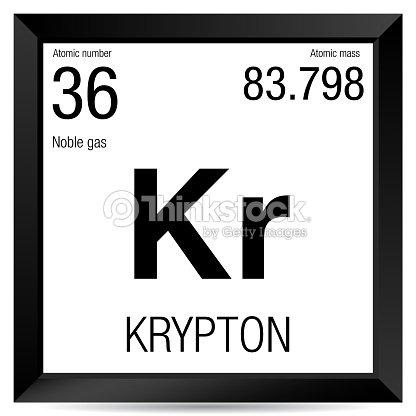 Krypton symbol element number 36 of the periodic table of the krypton symbol element number 36 of the periodic table of the elements chemistry urtaz Choice Image