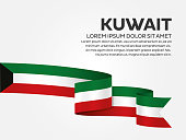 Kuwait, country, flag, vector, icon