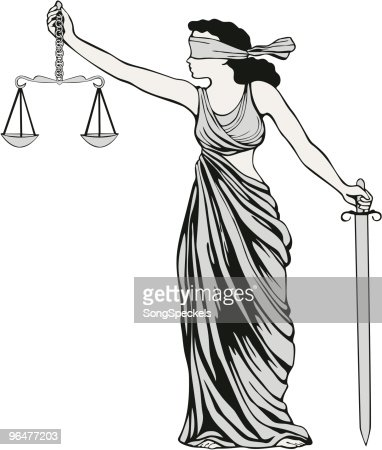lady justice statue drawing - photo #43