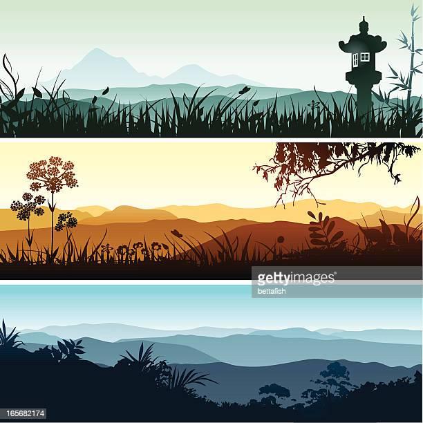 Landschaft Banner