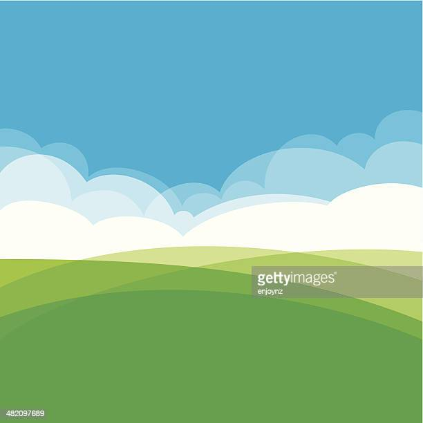 Arrière-plan de conception de paysage
