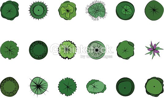 Landscape Design Symbols Vector Art Thinkstock