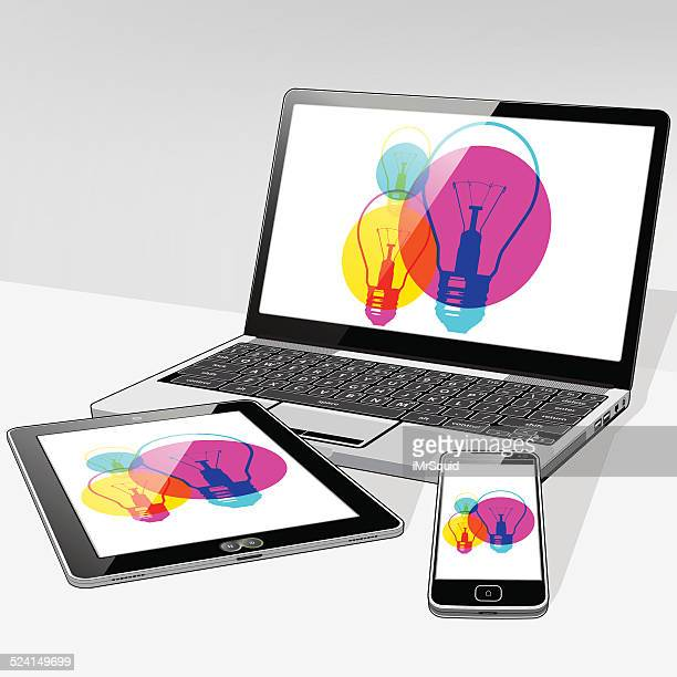 Laptop Tablet and SmartPhone ideas