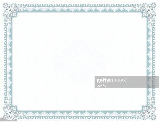 Große Zertifikat-Diplom