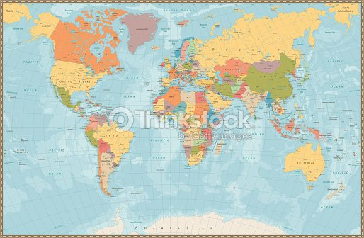 Large Picture Of World Map on