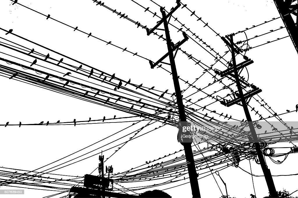 large group of birds on a tangle of wires vector id507639450?s\=170667a raven 450 wiring diagram,wiring free download printable wiring raven 450 wiring diagram at creativeand.co
