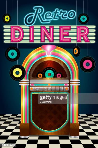 Diner Stock Illustrations And Cartoons Getty Images