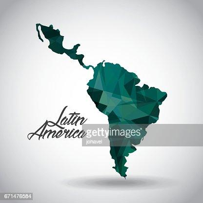 latin america design : stock vector