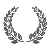 Laureate wreath - glory laurel wreath symbol