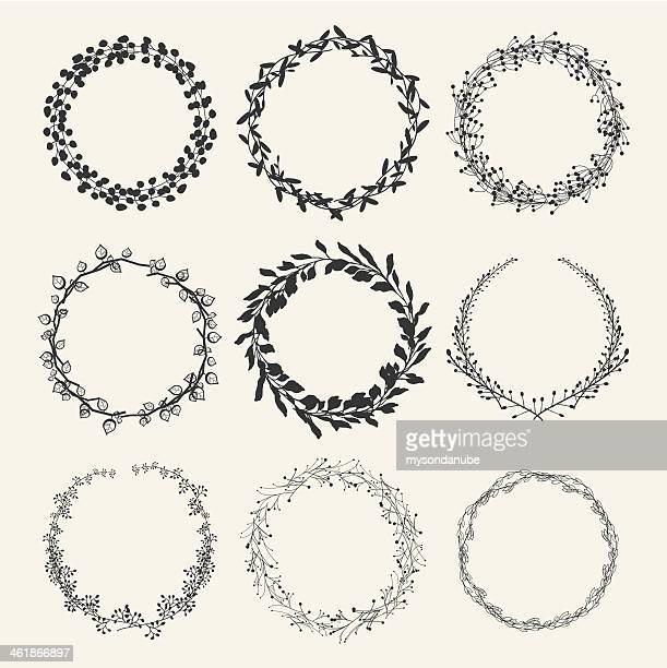 laurel wreath designs