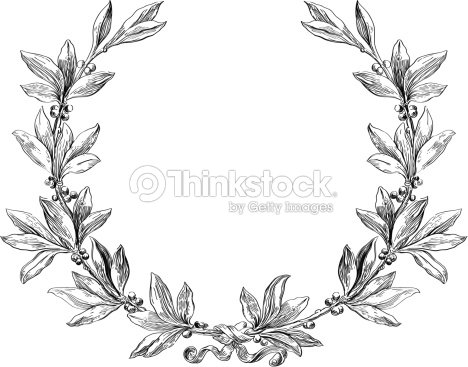 Laurel Wreath stock vector | Thinkstock