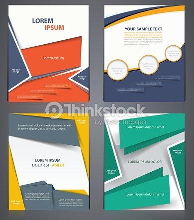 layout business brochure flyer design modello in formato a4 o arte