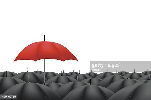 Leader Red Umbrella