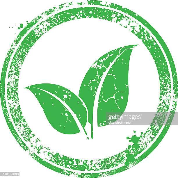 Leaf-Stempel