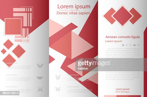 leaflet cover presentation abstract geometric background layout in, Presentation Abstract Template, Presentation templates