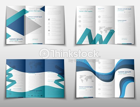 leaflet cover presentation abstract geometric background layout in