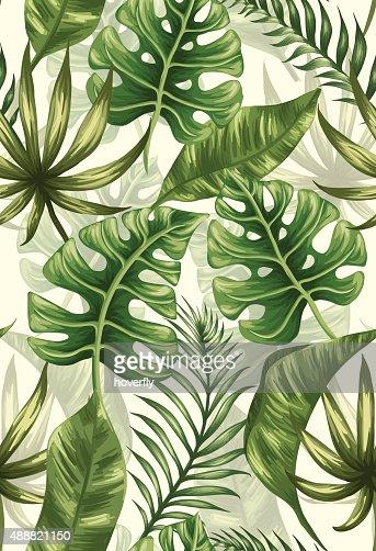 Leaves pattern : Vector Art