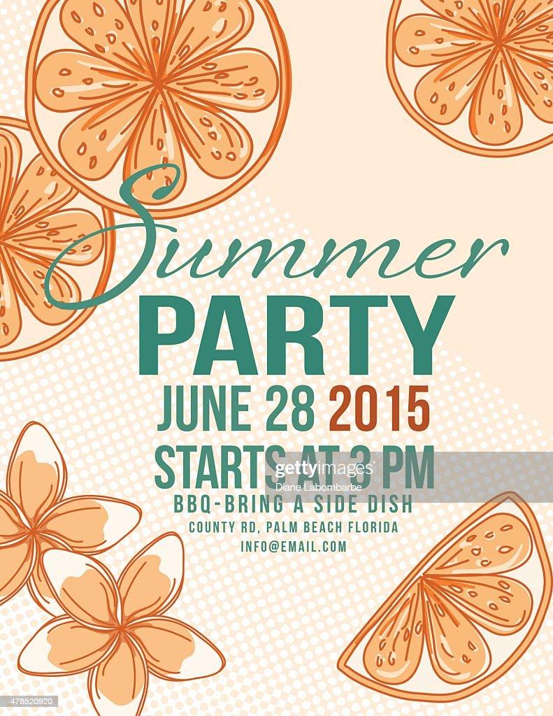 Lemonade summer beach party invitation template vector art getty keywords 2015 airtight beach beach party stopboris Image collections