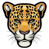 vector of Leopard Head