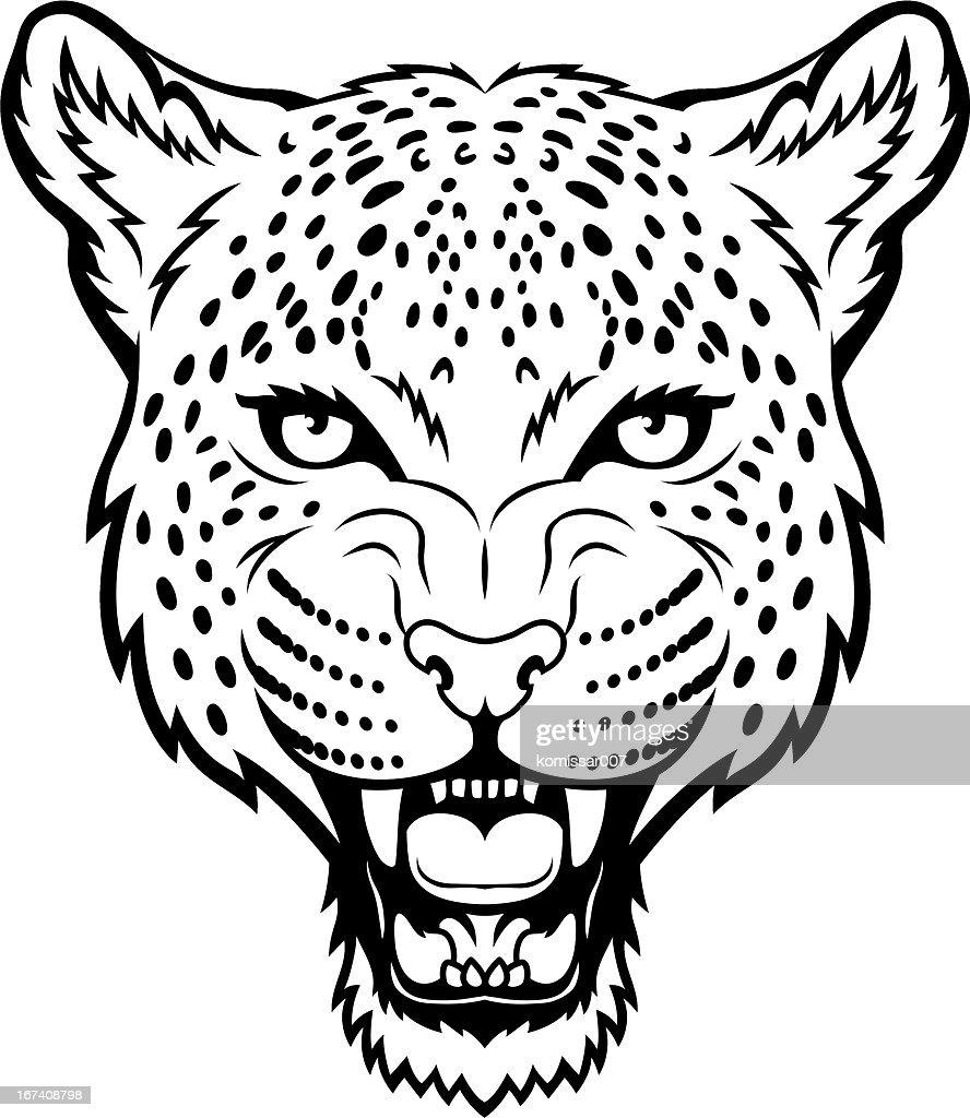 Leopard : Vectorkunst