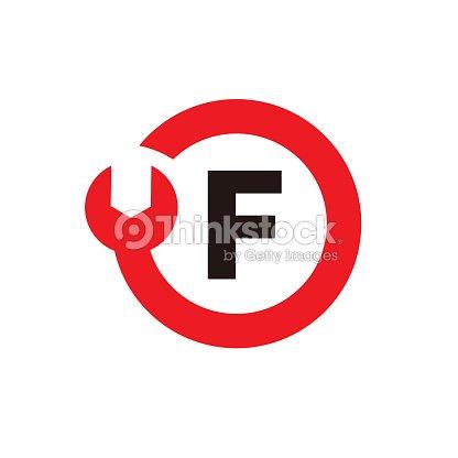 letter f logo template design vector emblem design concept creative