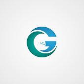 G letter icon design vector illustration template,  Vector illustration EPS.8 EPS.10