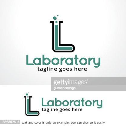 Letter L Lab Symbol Template Design Vector Emblem Design Concept