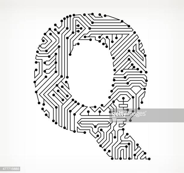 letter q stock illustrations and cartoons