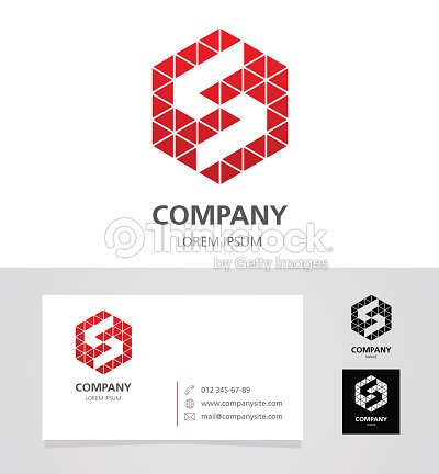 Letter s logo design element with business card illustration letter s logo design element with business card illustration vector art thecheapjerseys Images