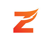 Letter Z Template Design Vector, Emblem, Design Concept, Icon, Symbol