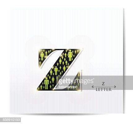 Letra z : Arte vectorial