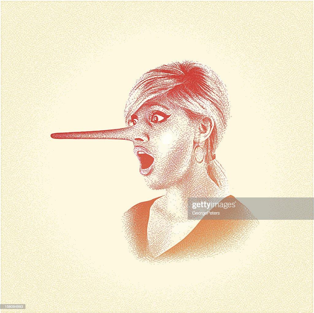 Liar : Vector Art