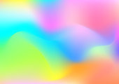 Light background of color fluid illustration.