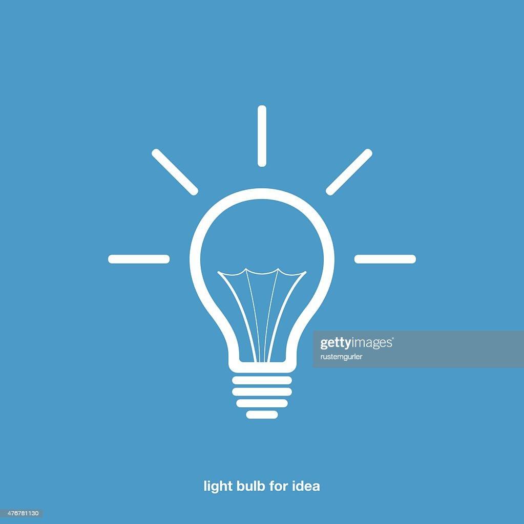 Light Bulb For Idea Ve...