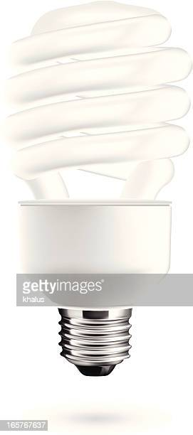 Light Bulb isolated in white backdrop