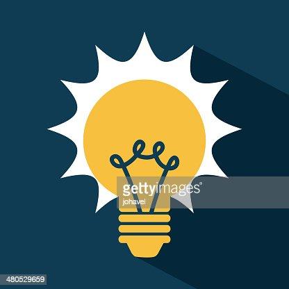 Light Bulb : Vector Art