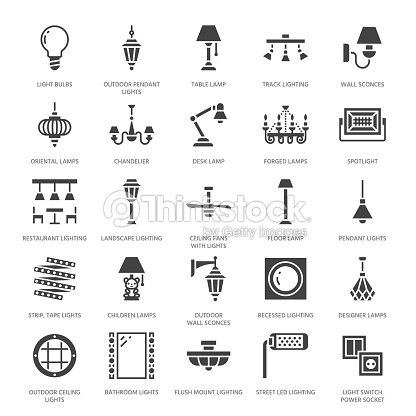 Light fixture lamps flat glyph icons home and outdoor lighting light fixture lamps flat glyph icons home and outdoor lighting equipment chandelier workwithnaturefo