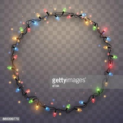 Anillo luz garland : Arte vectorial