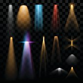 Lights effects in vector