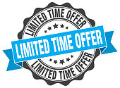 limited time offer stamp. sign. seal